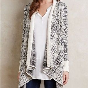 Anthropologie Tiny Cascading Cardigan Sweater